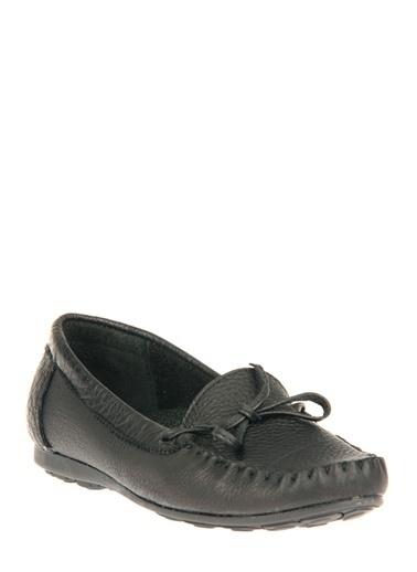 Ziya Hakiki Deri Günlük Ayakkabı Siyah